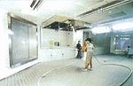 池袋防災コミュニティセンターでの消火シミュレーションシステム